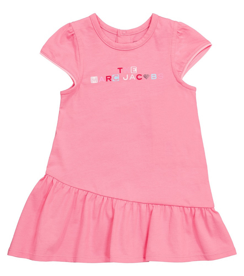 The Marc Jacobs Baby cotton T-shirt dress in pink