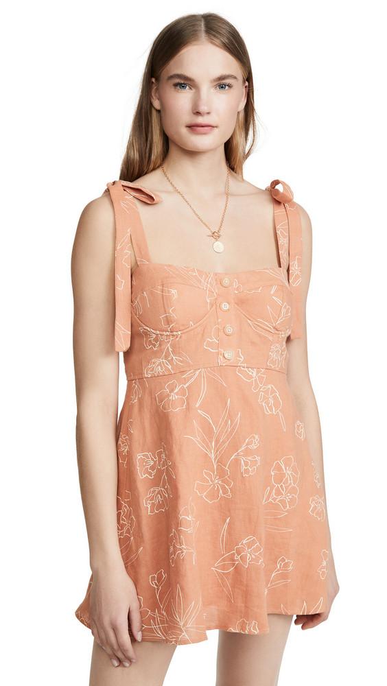 Capulet Hayden Mini Dress in print