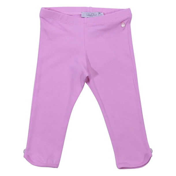 Baby Dior Pink Cotton Leggings