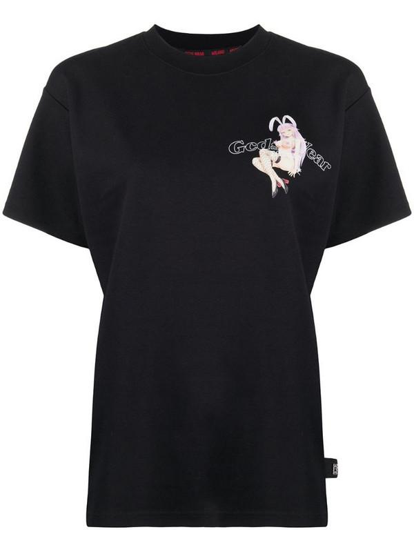 Gcds Gcdsliciou T-shirt in black