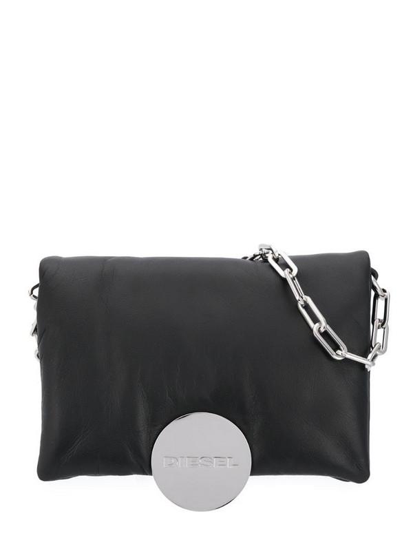 Diesel padded cross body bag in black
