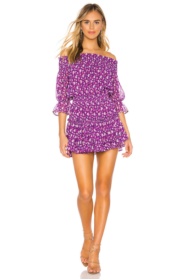 MISA Los Angeles Marisol Dress in purple