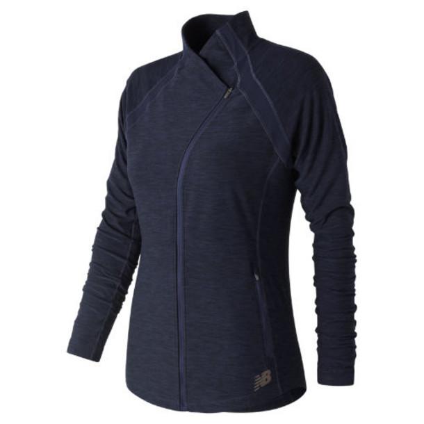 New Balance 81115 Women's Anticipate Jacket - Navy (WJ81115PGH)