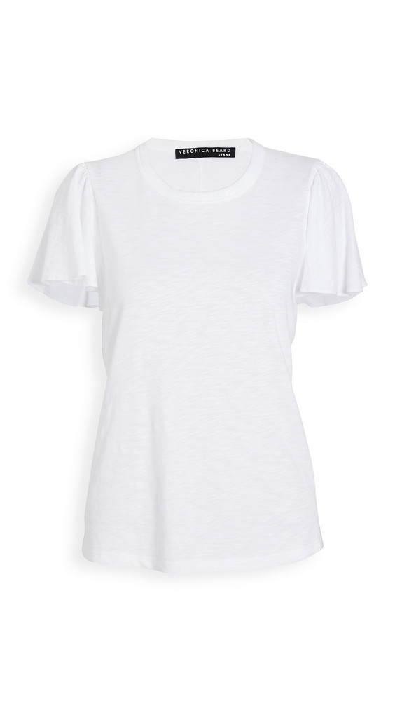 Veronica Beard Jean Zuma Tee in white
