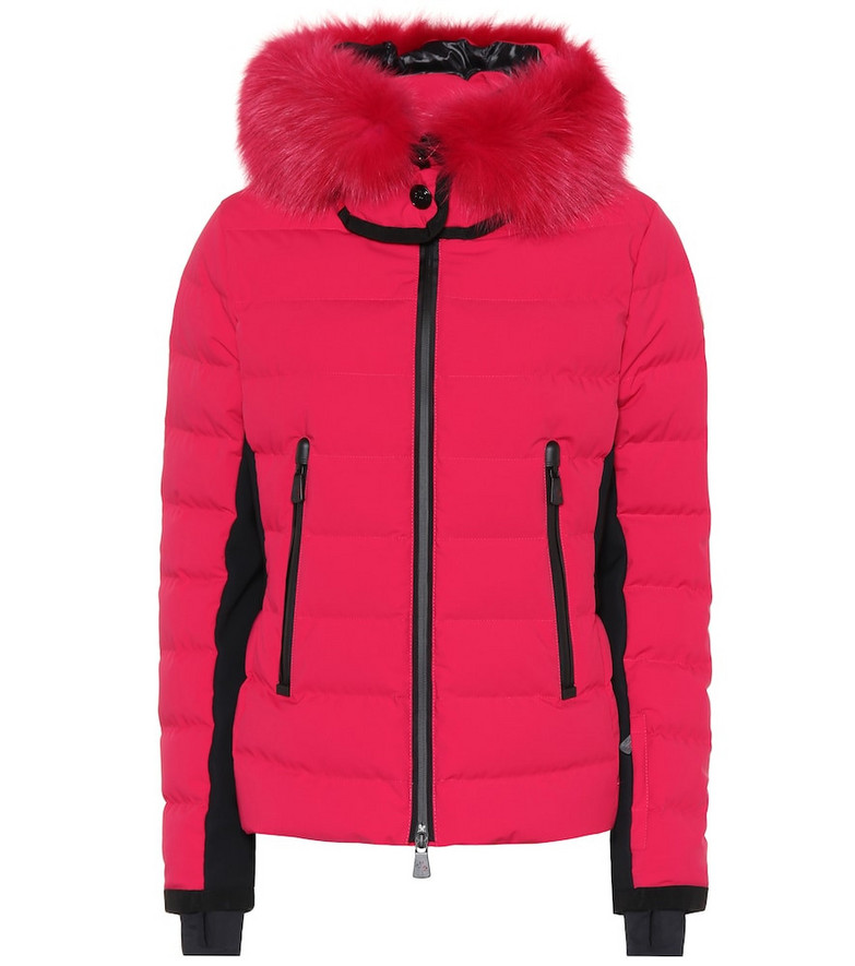 Moncler Grenoble Lamoura down jacket in pink