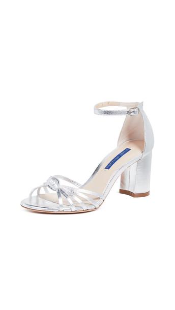 Stuart Weitzman Sutton Sandals in silver