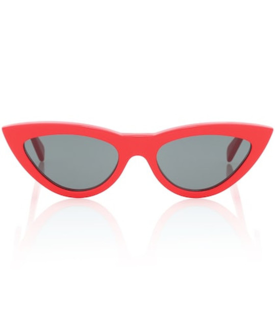 Celine Eyewear Cat-eye sunglasses in red