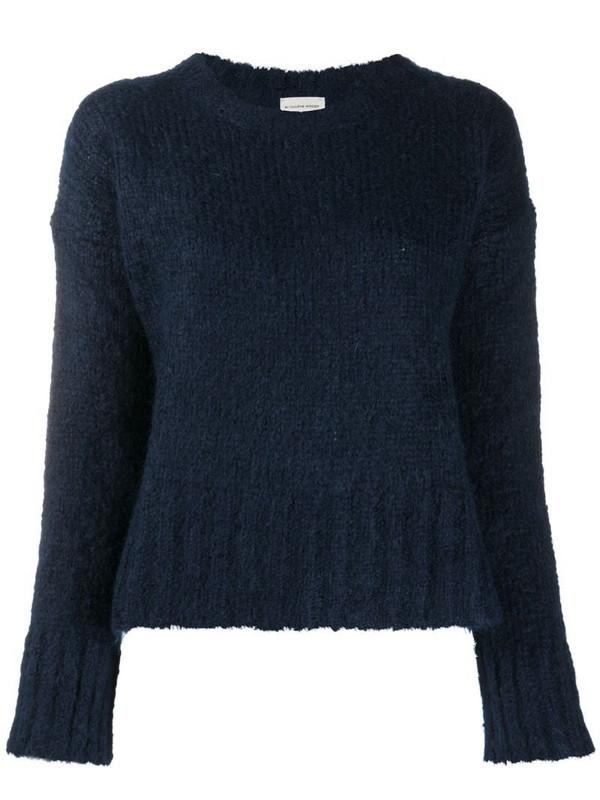 By Malene Birger textured knit jumper in blue