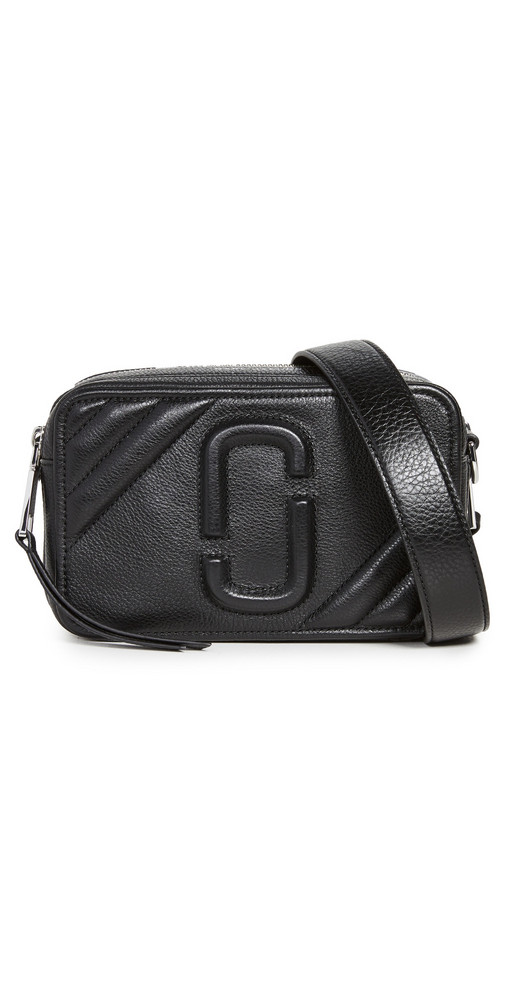 The Marc Jacobs The Moto Shot 21 Camera Bag in black