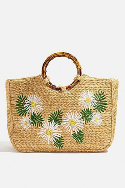 Skinny Dip *Kaia Straw Tote Bag By Skinnydip - Multi