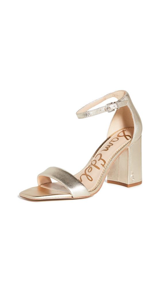 Sam Edelman Daniella Sandals in gold