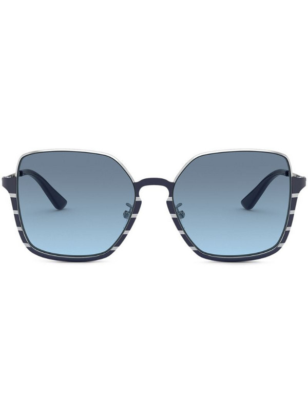 Tory Burch square-frame sunglasses in blue