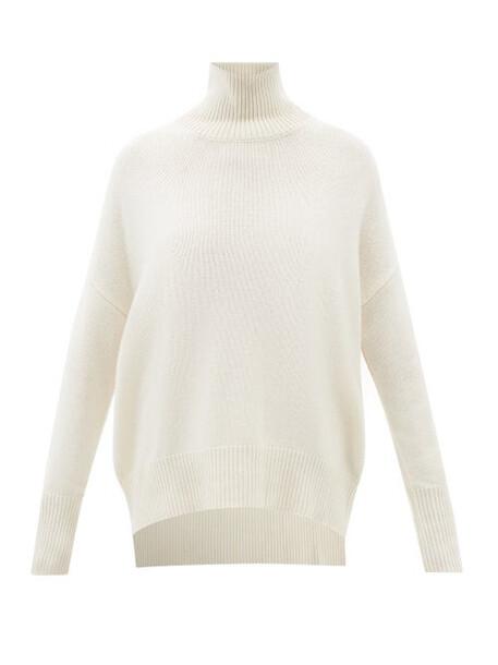 Lisa Yang - Heidi High-neck Cashmere Sweater - Womens - Cream