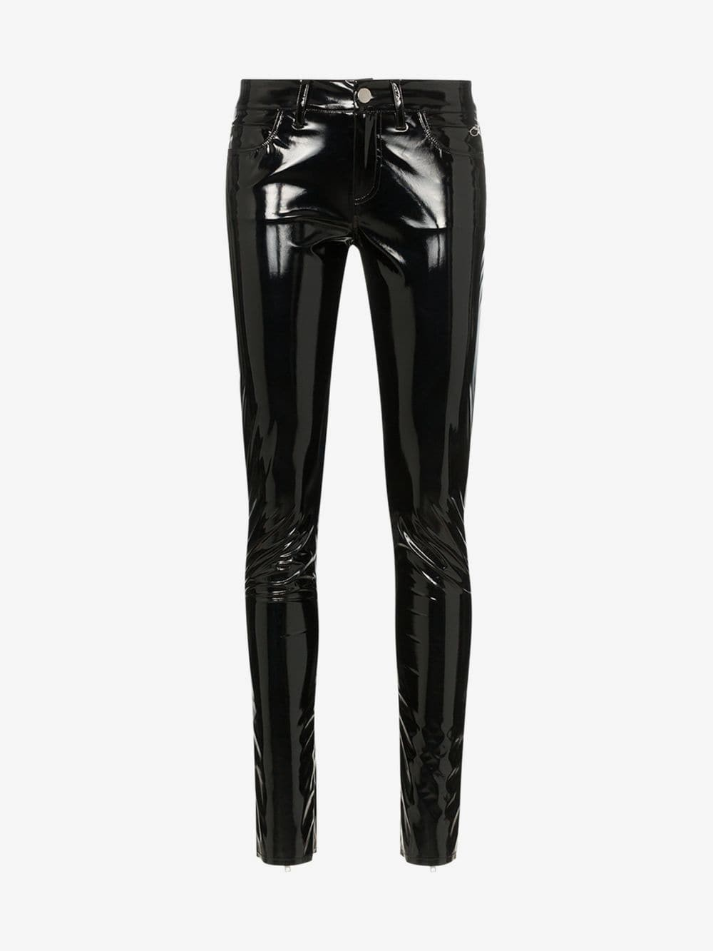 1017 ALYX 9SM slim-fit vinyl trousers in black