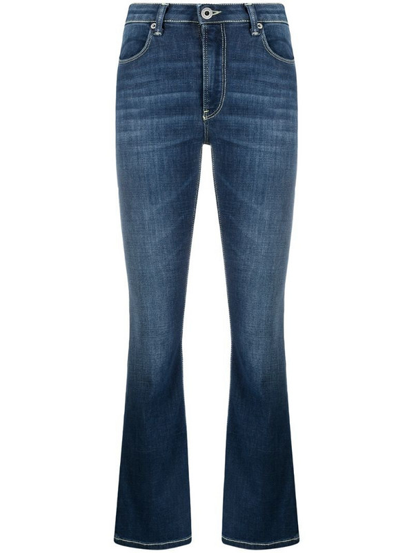 Dondup slim-fit bootcut jeans in blue