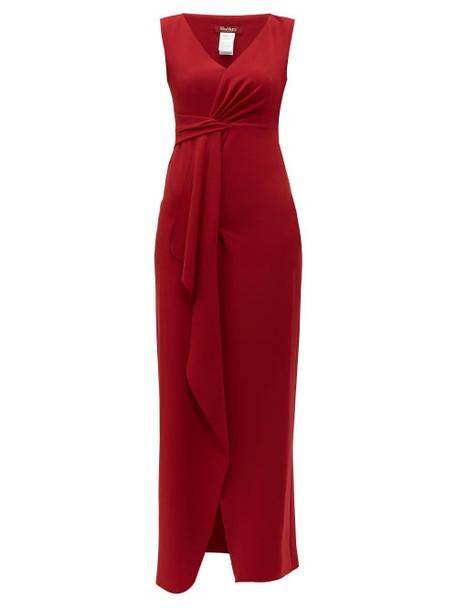 Max Mara Studio - Nice Dress - Womens - Red