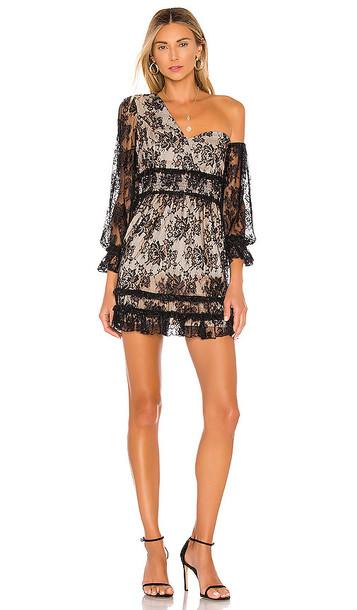 MAJORELLE Fremont Mini Dress in Black