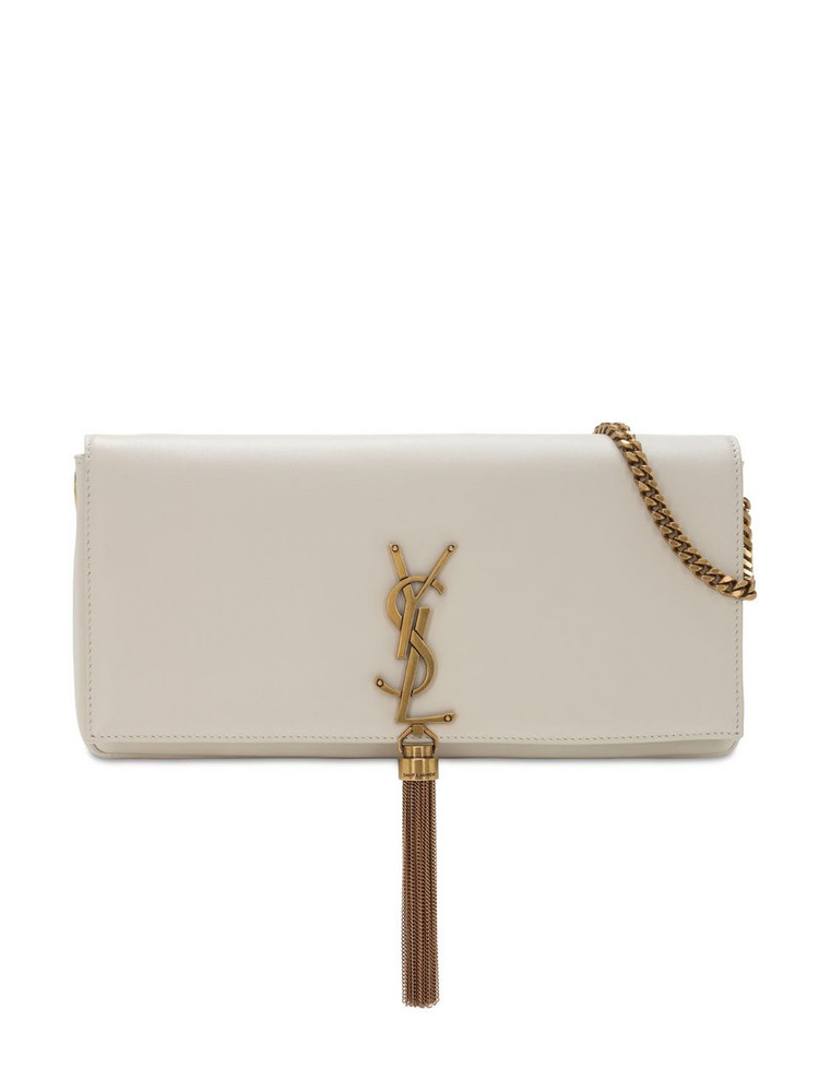 SAINT LAURENT Kate 99 Baguette Leather Bag W/ Tassel