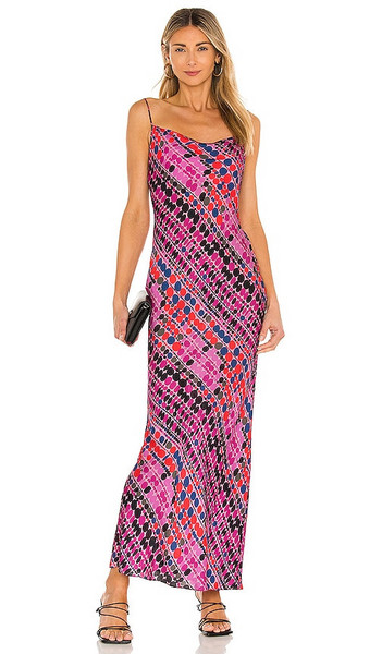Rhode Jemima Dress in Pink in purple