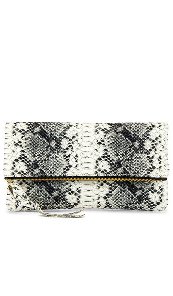 Oliveve Anastasia Clutch in Black & White
