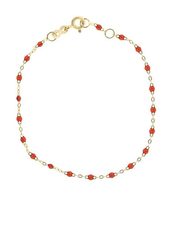 Gigi Clozeau 18kt yellow gold Classic Gigi ruby beaded bracelet