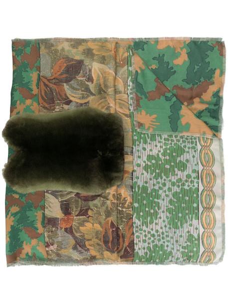 Pierre-Louis Mascia mixed-print silk scarf