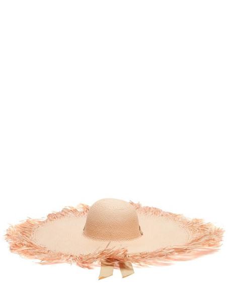 Sensi Studio - Oversized Straw Hat - Womens - Cream