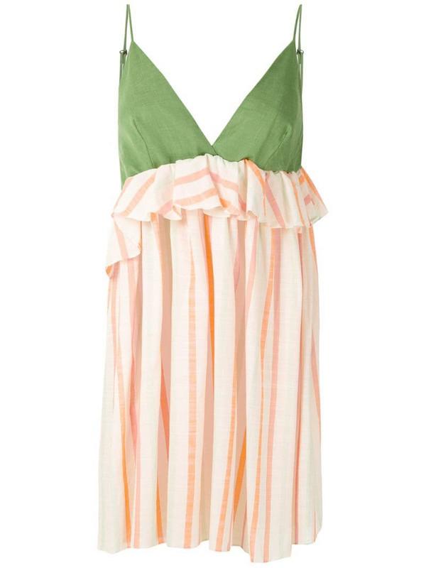 Clube Bossa Vurona short dress in green