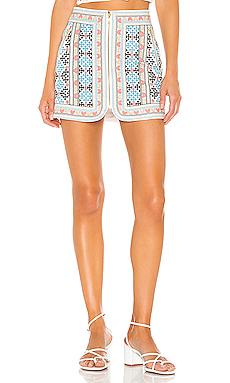 MAJORELLE Port Skirt in Summer Multi from Revolve.com