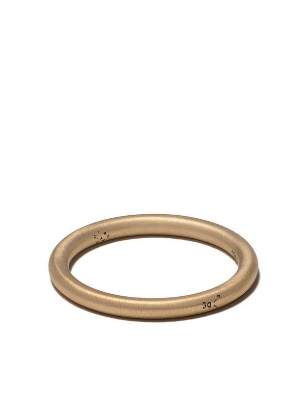 Le Gramme 18kt yellow brushed gold 3 Grams bangle ring