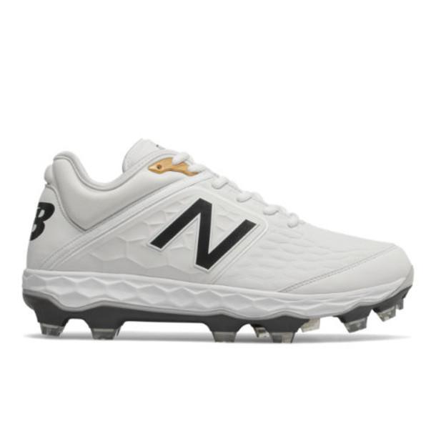 New Balance Fresh Foam 3000v4 TPU Men's Cleats and Turf Shoes - White (PL3000W4)