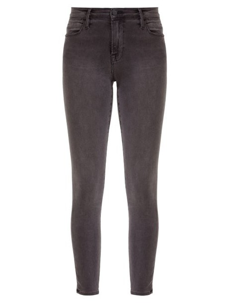 Frame - Le High Skinny Jeans - Womens - Grey
