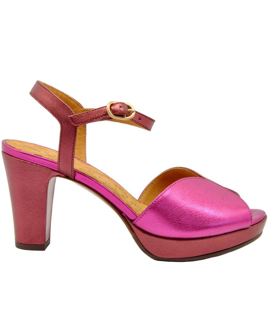 Chie Mihara Elodea Sandals in magenta