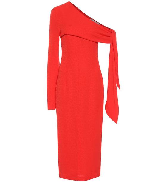 Matériel Tbilisi Fil coupé dress in red