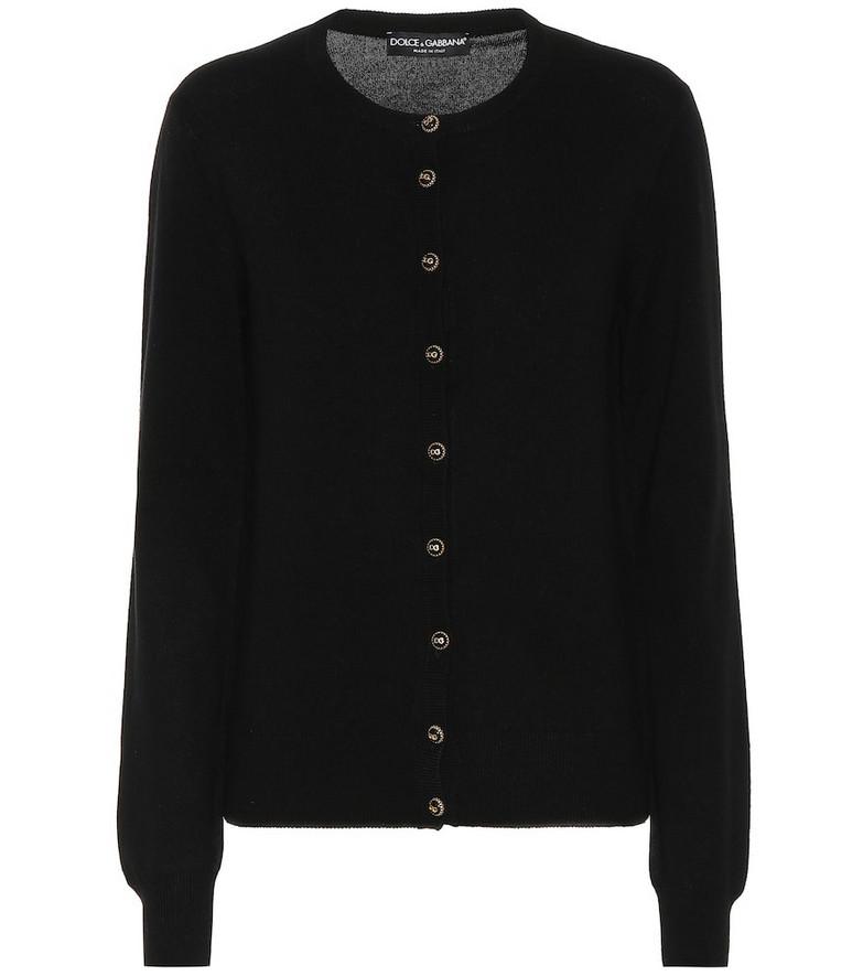Dolce & Gabbana Cashmere cardigan in black