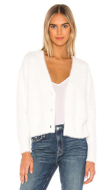Bella Dahl Sweater Cardigan in White