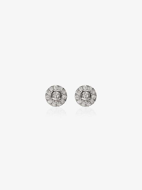 Dana Rebecca Designs 14K white gold Lauren Joy diamond stud earrings
