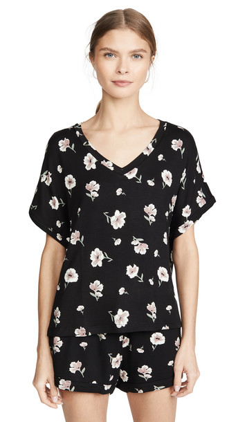 Z Supply The Bloom Dolman Tee in black