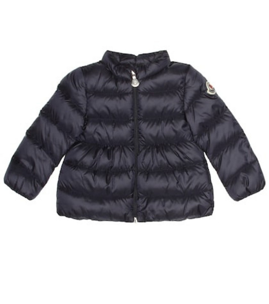 Moncler Enfant Joelle down coat in blue