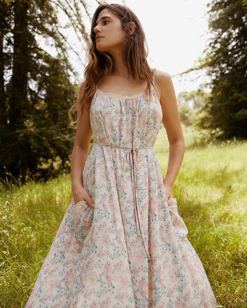 The Lou Dress   Carnation Blossom