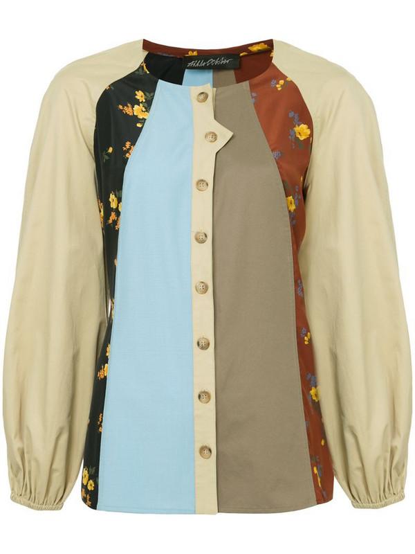 Anna October patchwork shirt