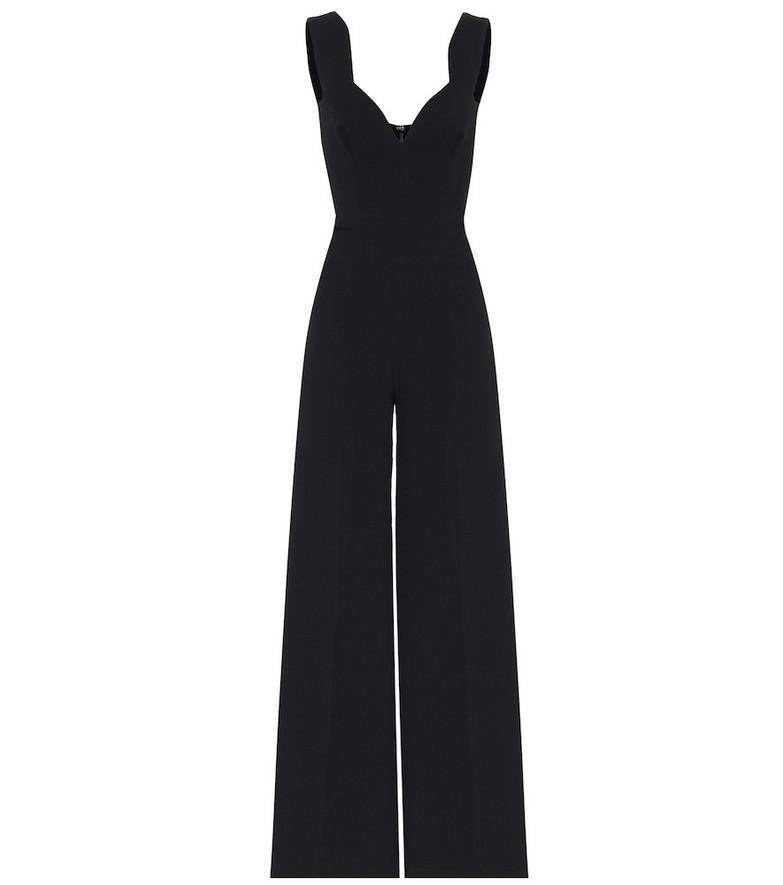 Emilia Wickstead Rosabel sleeveless jumpsuit in black
