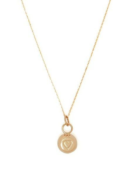 Aurélie Bidermann Fine Jewellery - 18kt Gold Bell Charm Necklace - Womens - Gold