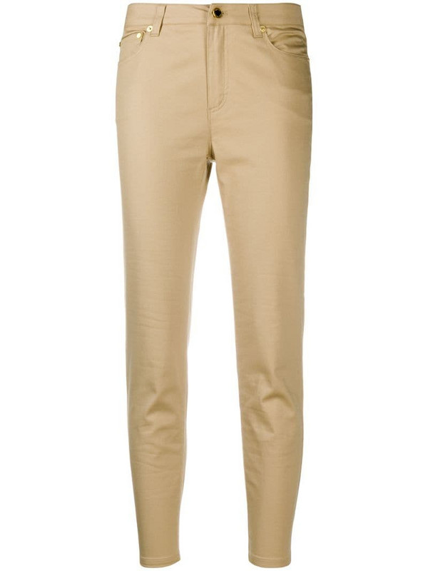 Michael Michael Kors mid-rise skinny jeans in neutrals