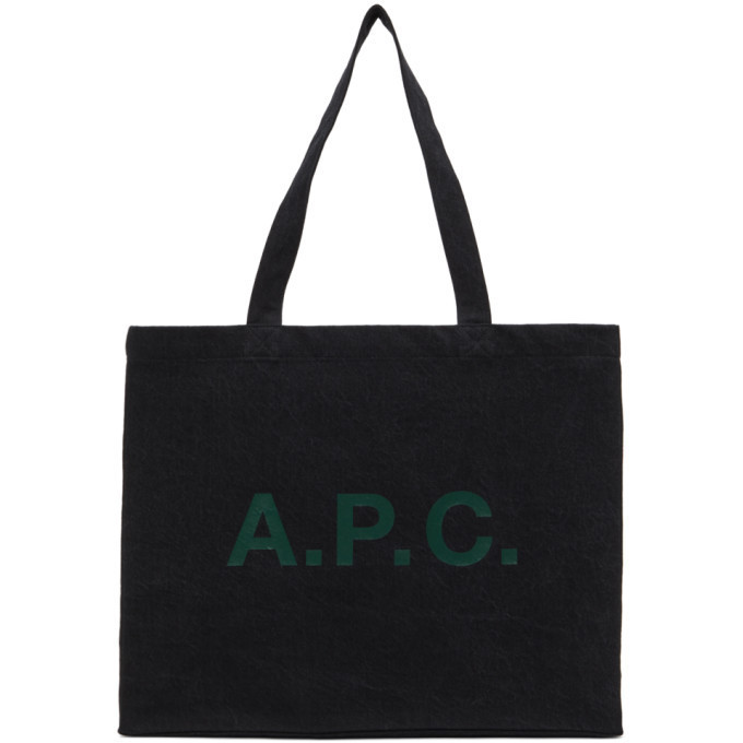 A.P.C. A.P.C. Black Diane Tote
