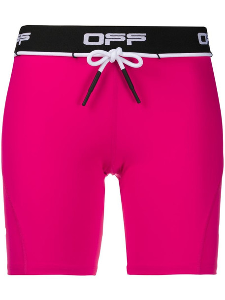 Off-White Active cycling shorts in pink