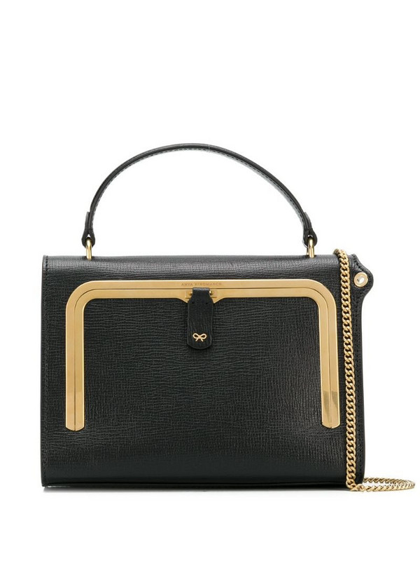 Anya Hindmarch small Postbox bag in black