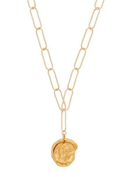 Alighieri - The Peacekeeper 24kt Gold Plated Necklace - Womens - Gold