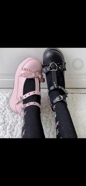 shoes,goth,platform sandals