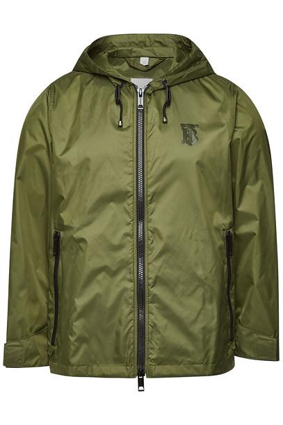 Burberry Winchester Windbreaker Jacket  in green